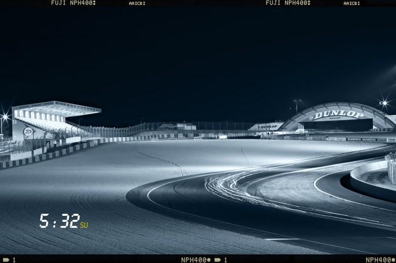 Le Mans'da gece 1