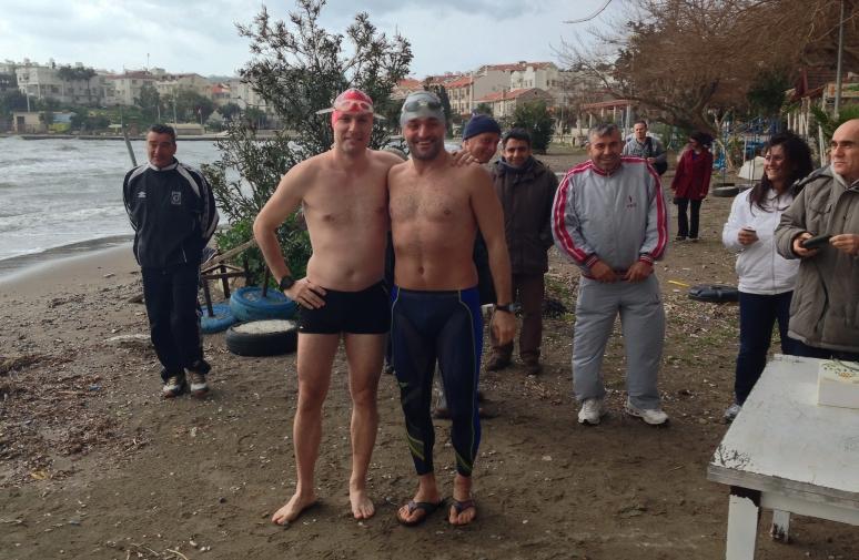 Test yüzüşü öncesi 1